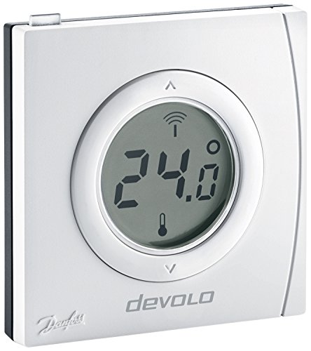 devolo home control raumthermostat funk thermostat heizungssteuerung z wave hausautomation. Black Bedroom Furniture Sets. Home Design Ideas