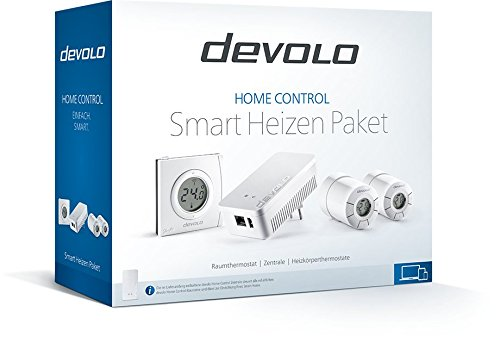 devolo home control smart heizen paket funk heizungssteuerung smarthome thermostat z wave. Black Bedroom Furniture Sets. Home Design Ideas
