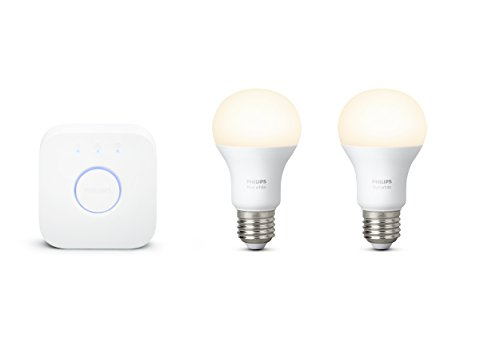 Philips Lampen Led : Philips hue white e27 led lampe starter set zwei lampen bedienung