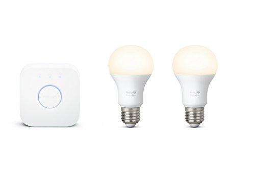 Led Lampen Philips : Philips hue white e led lampe starter set zwei lampen