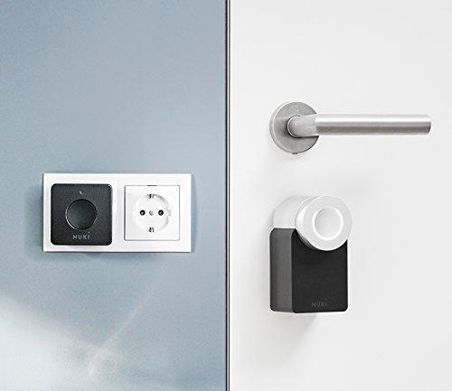 nuki combo elektronisches t rschloss smart lock und bridge das smart home abcdas smart. Black Bedroom Furniture Sets. Home Design Ideas