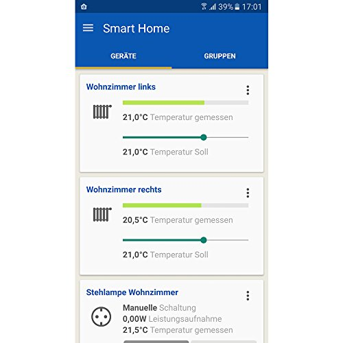eurotronic comet dect heizk rperthermostat kompatibel mit avm fritz box app gesteuert das. Black Bedroom Furniture Sets. Home Design Ideas